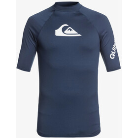Quiksilver All Time Maglia a maniche corte Uomo, majolica blue heather